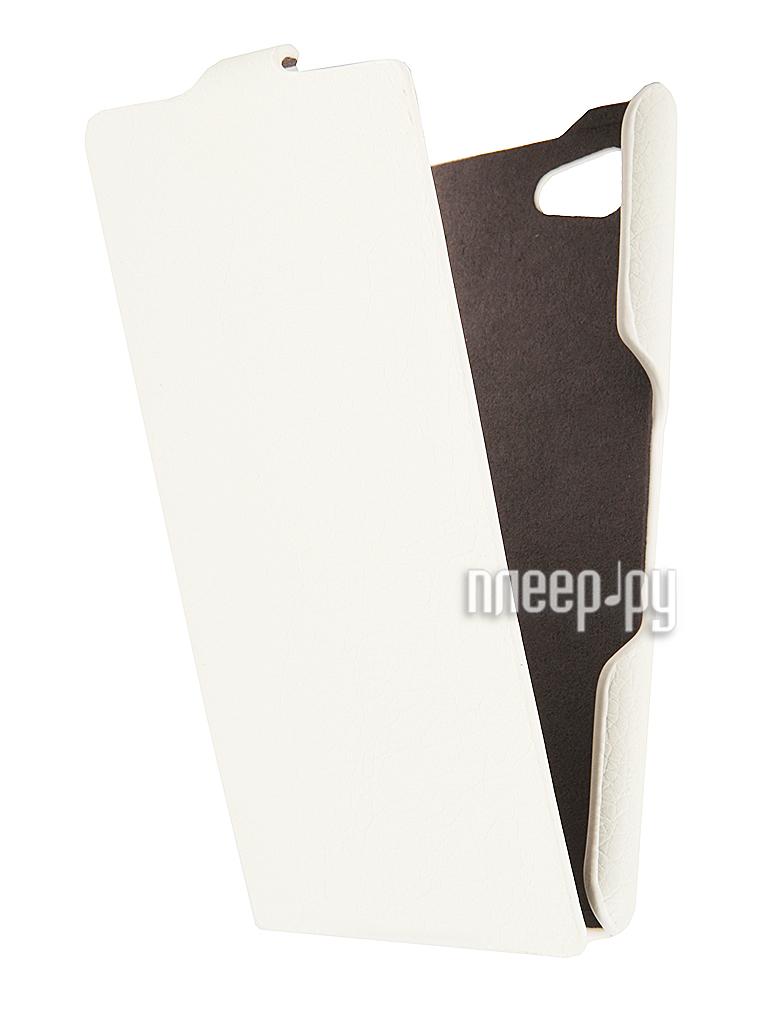 Аксессуар Чехол Sony Xperia E3 iBox Premium White  Pleer.ru  1109.000