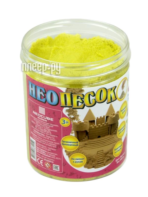 Живой песок FamilyFun НеоПесок 500г SMSD0016 Yellow  Pleer.ru  285.000