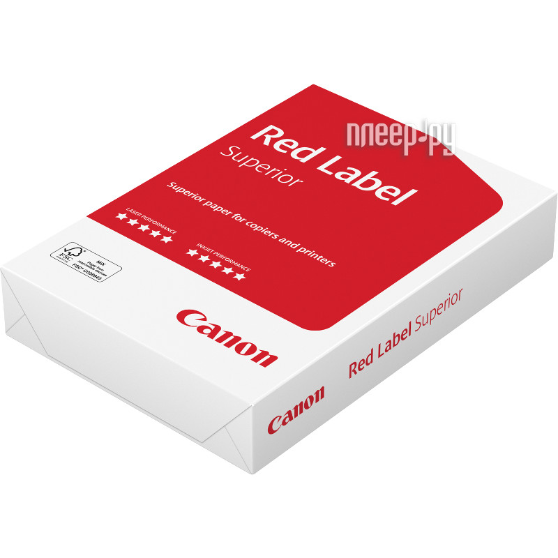 Бумага Canon Oce Red Label 161CIE 80г/м2 500 листов 6246b009  Pleer.ru  429.000