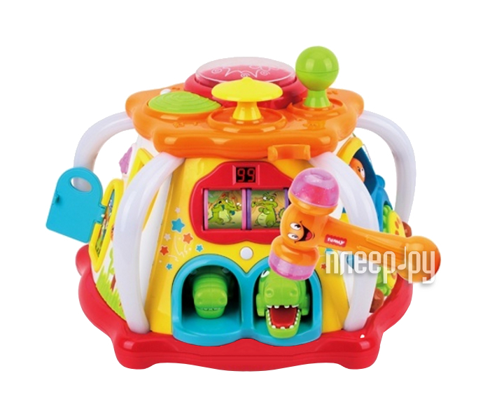 Сортер Huile Toys Мультицентр с молоточком 676  Pleer.ru  3239.000