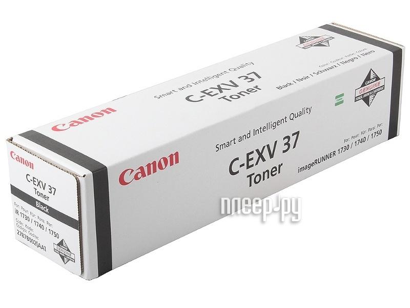 Картридж Canon C-EXV37 Black для iR1730i / 1740i / 1750i 2787B002