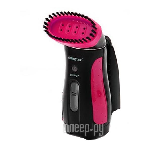 Пароочиститель, отпариватель Monster MS10879 Black-Pink  Pleer.ru  783.000