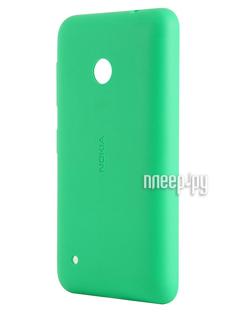 Аксессуар Защитная крышка Nokia Lumia 530 CC-3084 Green  Pleer.ru  790.000