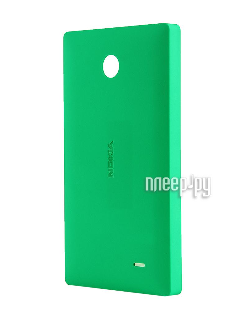 Аксессуар Чехол Nokia X / X+ CC-3080 Green  Pleer.ru  1121.000