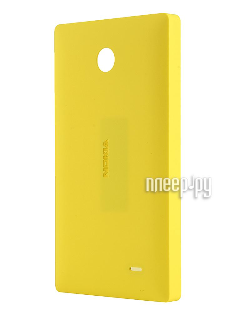 Аксессуар Чехол Nokia X / X+ CC-3080 Yellow  Pleer.ru  1121.000