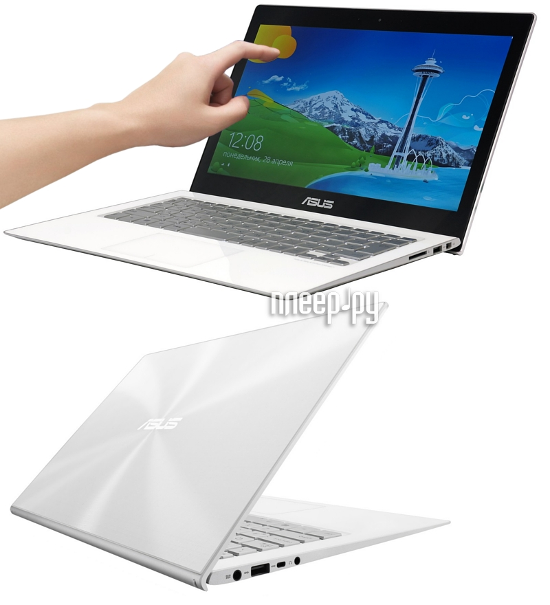 Ноутбук ASUS UX301LA-C4085P 90NB0192-M03760 (Intel Core i7-4510U 2.0 GHz/8192Mb/512Gb SSD/No ODD/Intel HD Graphics/Wi-Fi/Cam/13.3/2560x1440/Touchscreen/Windows 8 Pro 64-bit) 958162  Pleer.ru  66455.000