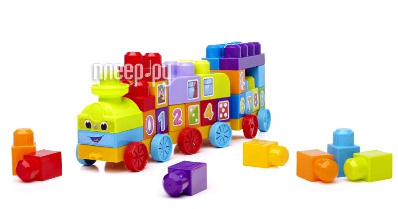 Конструктор Mega Bloks First Builders Обучающий паровозик 81209  Pleer.ru  771.000