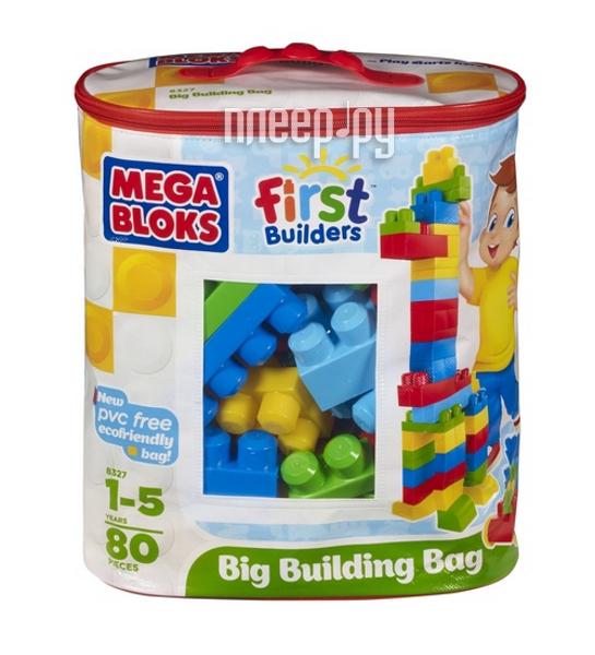 Конструктор Mega Bloks Сумка с деталями Эко 08326/08327/08328  Pleer.ru  532.000