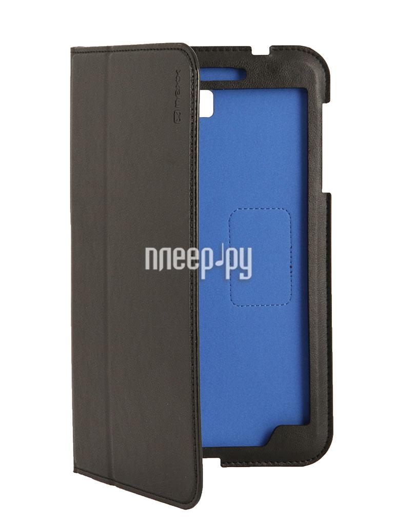 Аксессуар Чехол Samsung Galaxy Tab 4 8.0 NEXX Bookz полиуретан Black TPC-BZ-208-BK  Pleer.ru  1099.000