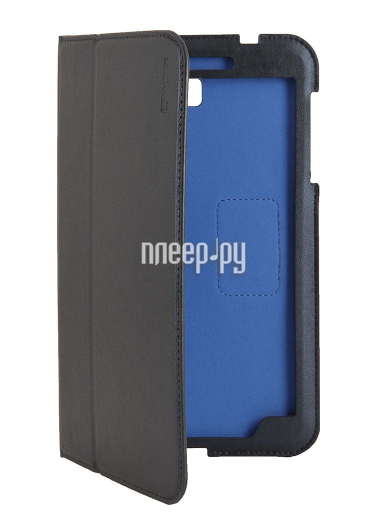 Аксессуар Чехол Samsung Galaxy Tab 4 8.0 NEXX Bookz полиуретан Blue TPC-BZ-208-DB  Pleer.ru  1099.000
