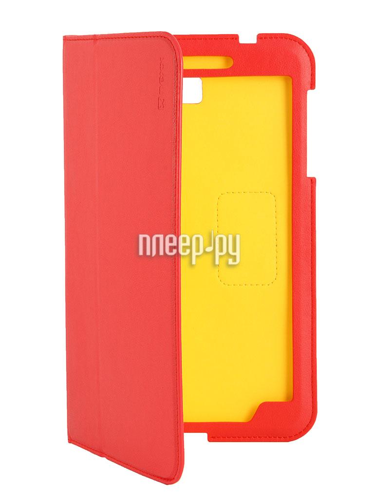 Аксессуар Чехол Samsung Galaxy Tab 4 8.0 NEXX Bookz полиуретан Red TPC-BZ-208-RD  Pleer.ru  1099.000