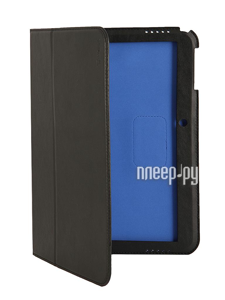 Аксессуар Чехол Samsung Galaxy Tab 4 10.1 NEXX Bookz полиуретан Black TPC-BZ-209-BK  Pleer.ru  1159.000