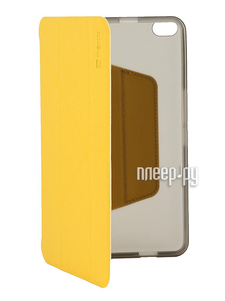 Аксессуар Чехол Huawei MediaPad X1 NEXX Smartt полиуретан Yellow TPC-ST-800-YL  Pleer.ru  980.000
