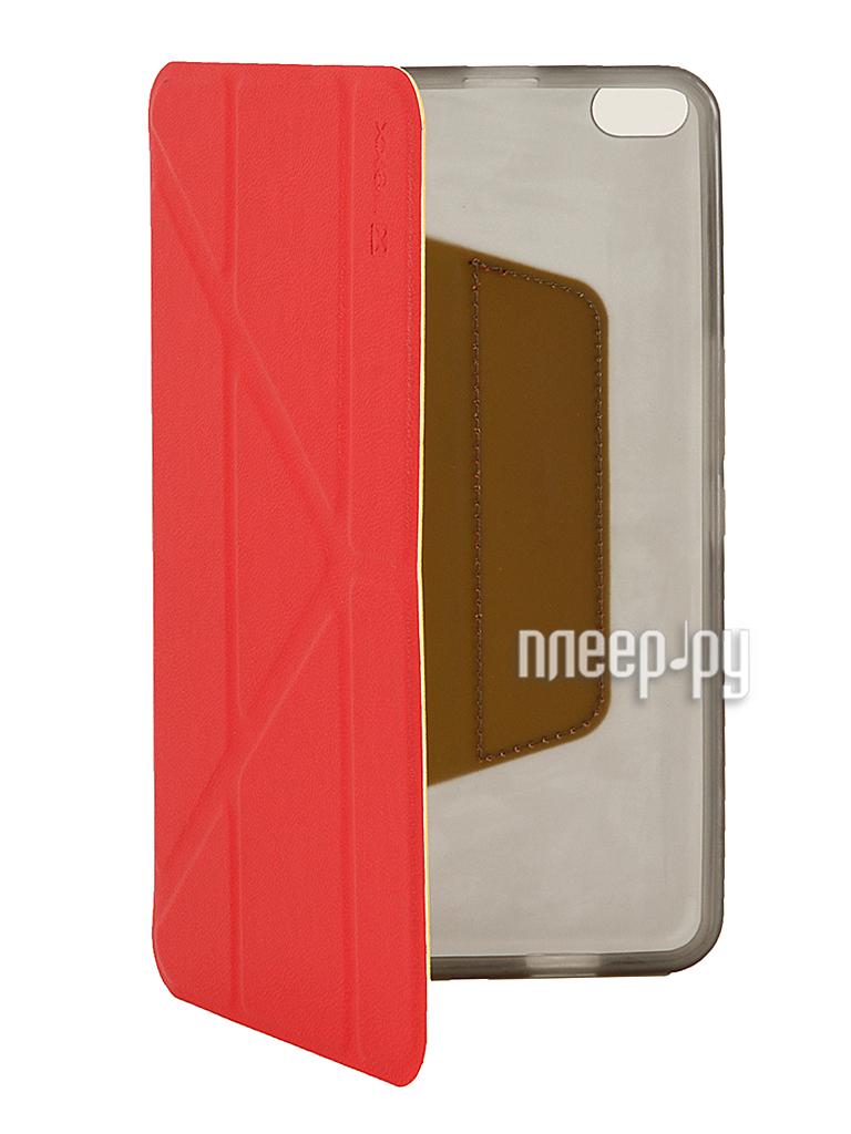 Аксессуар Чехол Huawei MediaPad X1 NEXX Smartt полиуретан Red TPC-ST-800-RD  Pleer.ru  980.000