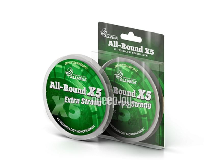 Леска Allvega All-Round X5 50m 0.14mm LAR5014
