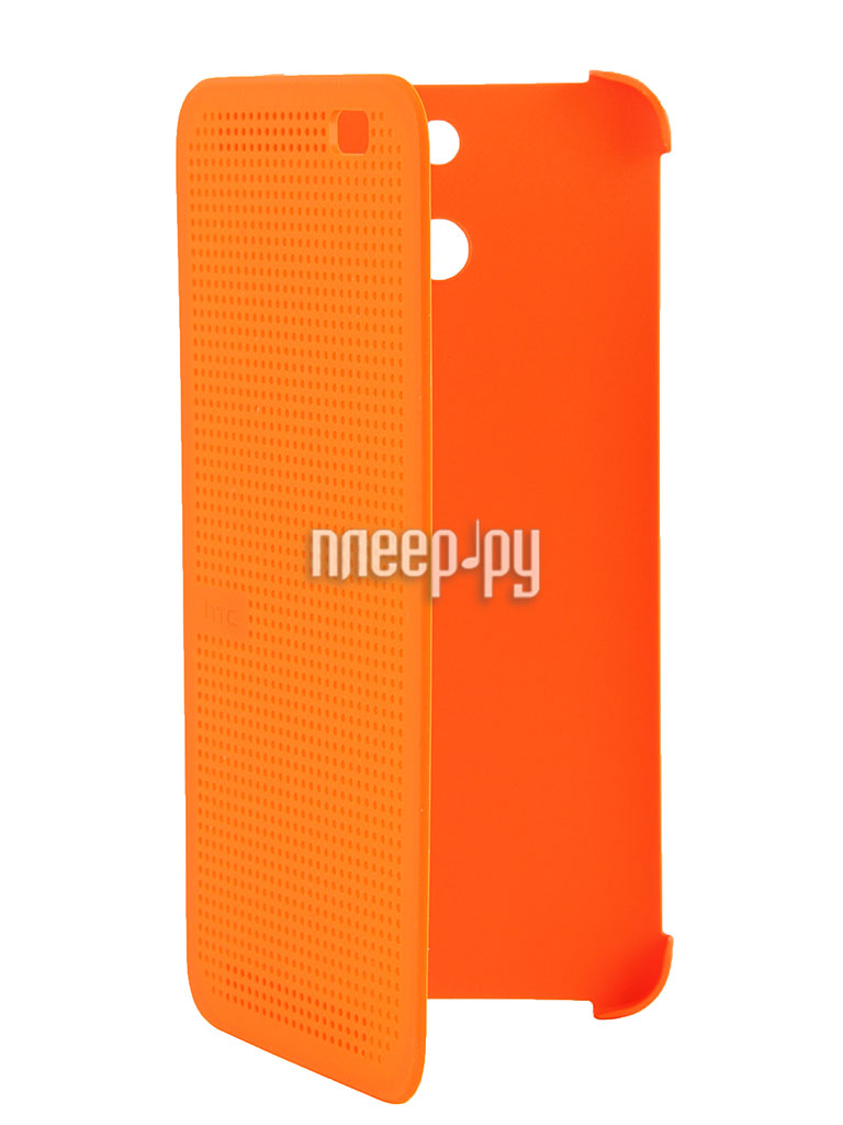 Аксессуар Чехол HTC One E8 Dot Case HC M110 Orange  Pleer.ru  1889.000