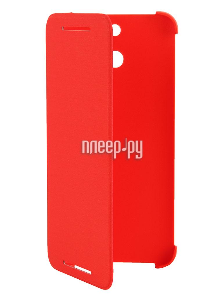 Аксессуар Чехол HTC One E8 HC V980 Red  Pleer.ru  1449.000