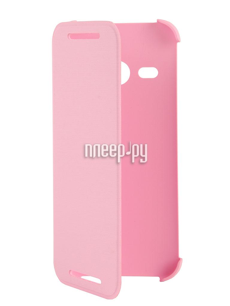 Аксессуар Чехол HTC One mini 2 HC V970 Pink  Pleer.ru  1438.000