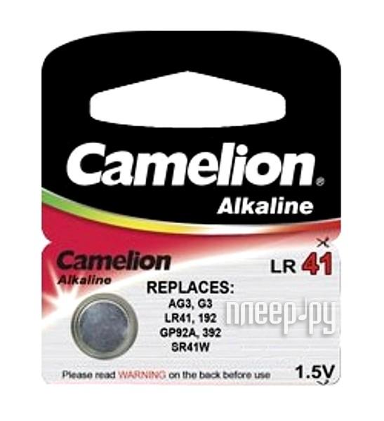 Camelion G3 Plus Alkaline 1.5V AG3-BP10 (1 штука)  Pleer.ru  52.000