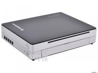 Lenovo IdeaCentre Q190 57316621 Black-Silver (Intel Celeron 1017U 1.6 GHz/4096Mb/500Gb/DVD-RW/Intel HD Graphics/GBLan+WiFi/Windows 8)