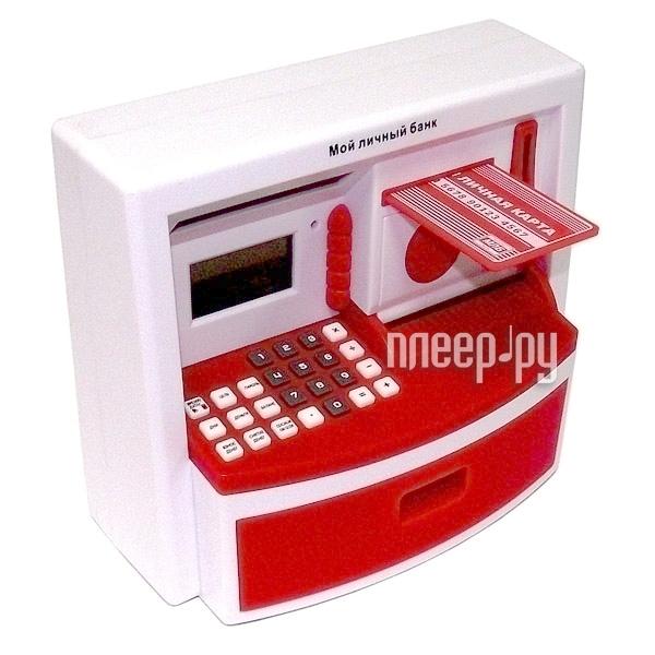 Копилка Эврика Банкомат 93589 Red  Pleer.ru  1140.000