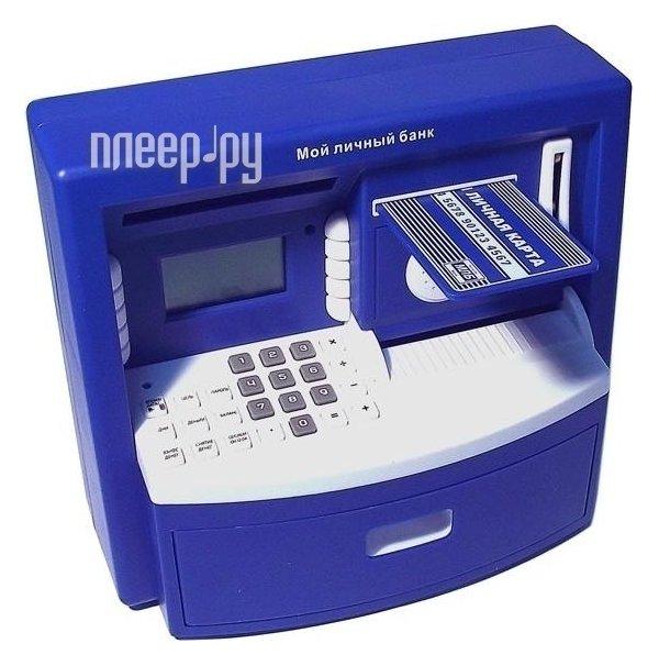 Копилка Эврика Банкомат 93588 Blue  Pleer.ru  1140.000
