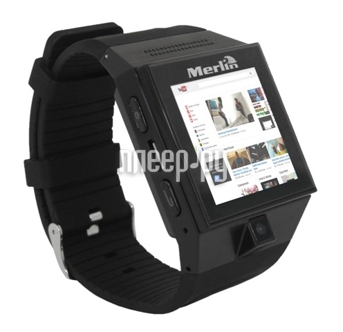 Сотовый телефон Merlin Android Watch Phone M70  Pleer.ru  9383.000