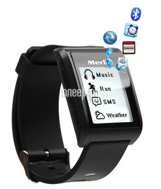 Умные часы Merlin Smart Watch V2  Pleer.ru  4491.000