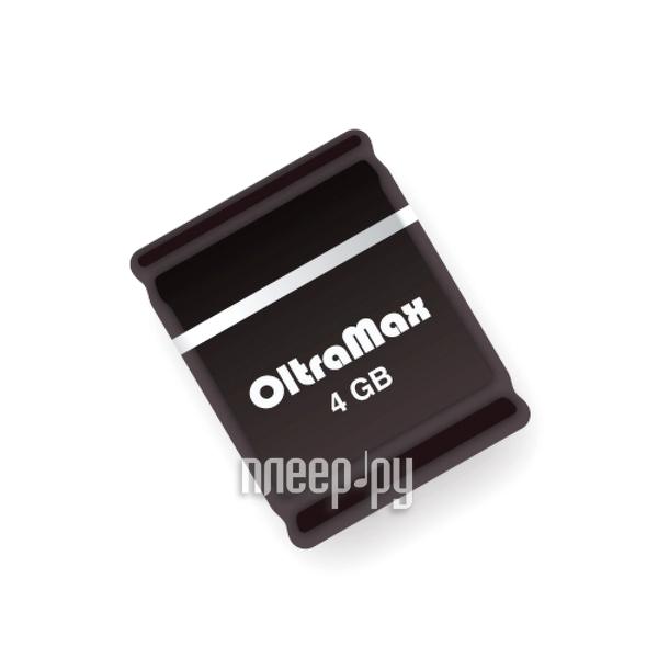 USB Flash Drive 4Gb - OltraMax 50 Black OM004GB-mini-50-B