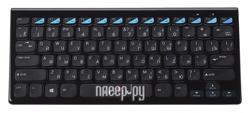 Клавиатура беспроводная Oklick 850 S Black USB  Pleer.ru  852.000