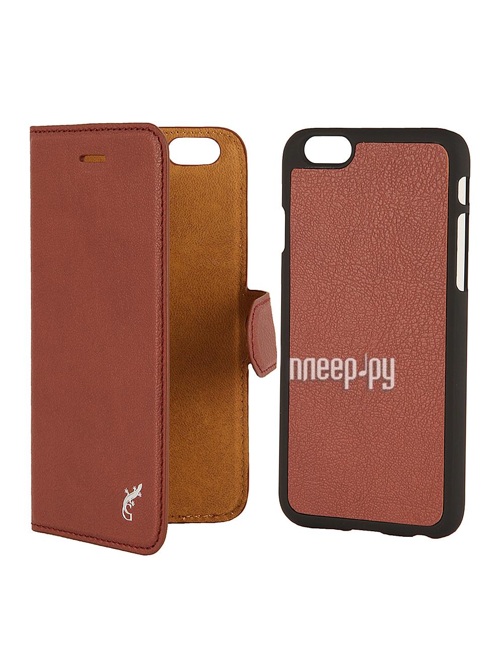 Аксессуар Чехол G-Case Prestige 2 в 1 for iPhone 6 4.7-inch Brown GG-489  Pleer.ru  1250.000