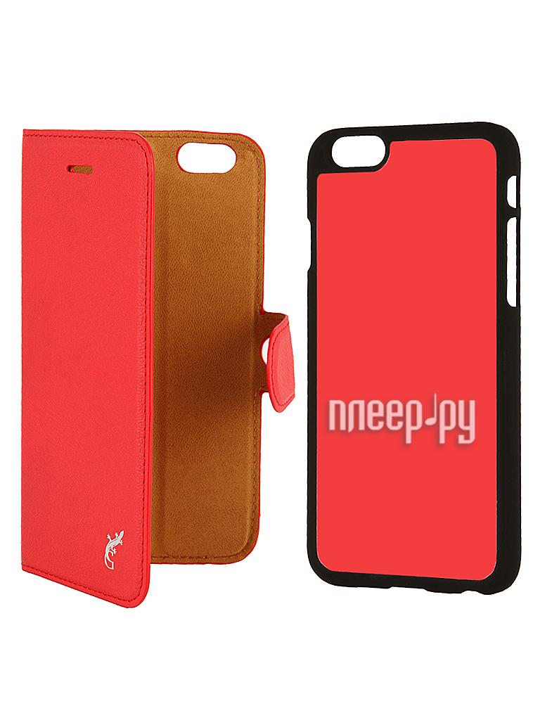 Аксессуар Чехол G-Case Prestige 2 в 1 for iPhone 6 4.7-inch Red GG-487  Pleer.ru  1250.000