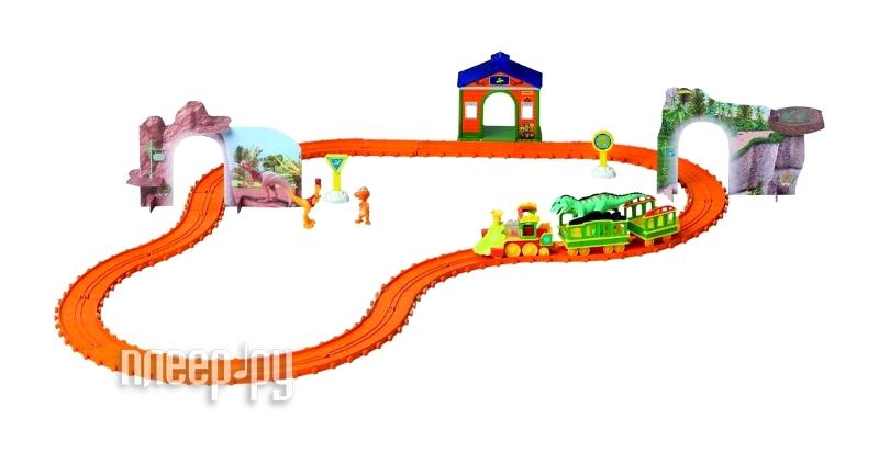 Железная дорога 1Toy Поезд Динозавров T57098  Pleer.ru  2349.000