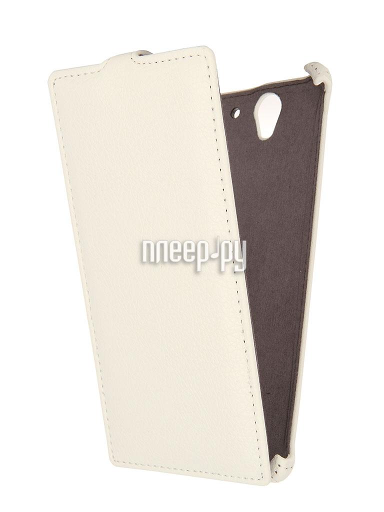 Аксессуар Чехол Sony Xperia C3 D2502 Gecko White  Pleer.ru  1000.000