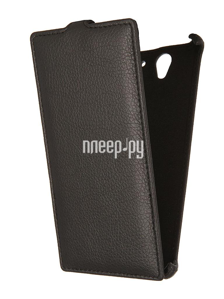 Аксессуар Чехол Sony Xperia C3 D2502 Gecko Black  Pleer.ru  1000.000