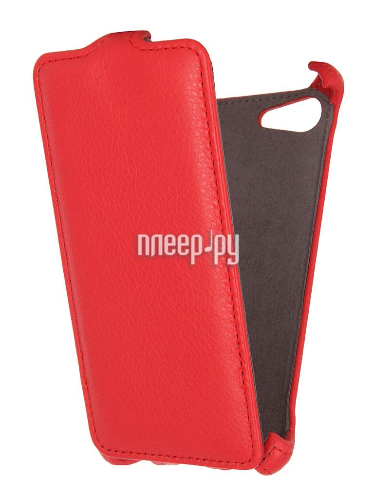 Аксессуар Чехол Sony Xperia E2 / E2 Dual Gecko Red  Pleer.ru  1000.000