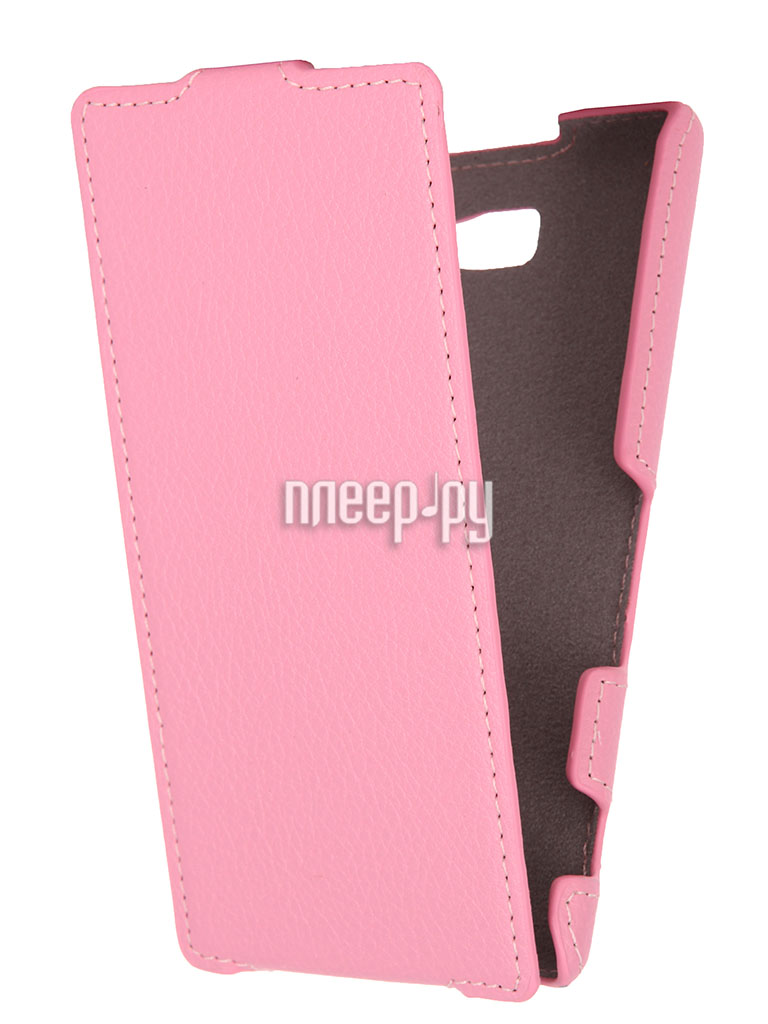 Аксессуар Чехол Sony Xperia M2 D2303 Gecko Pink  Pleer.ru  1000.000