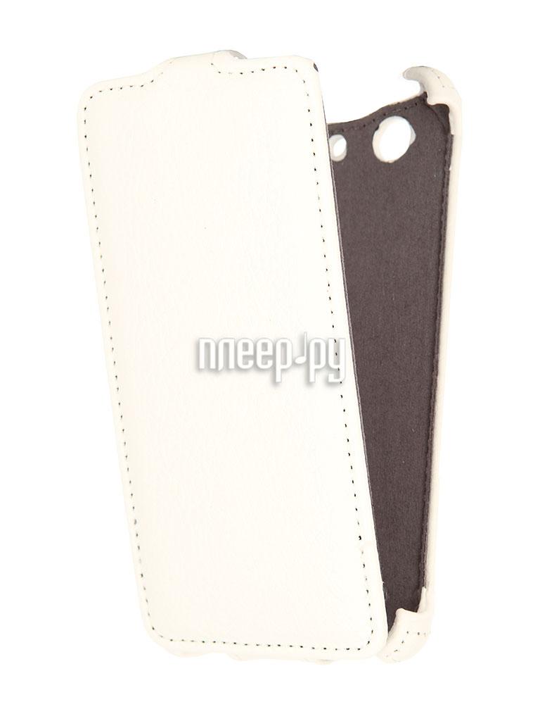 Аксессуар Чехол Sony Xperia Z3 Compact D5803 Gecko White  Pleer.ru  1000.000