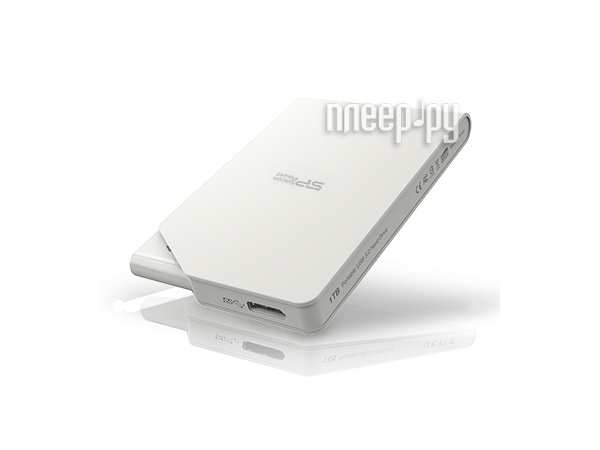 Жесткий диск Silicon Power Stream S03 500Gb White SP500GBPHDS03S3W  Pleer.ru  1900.000