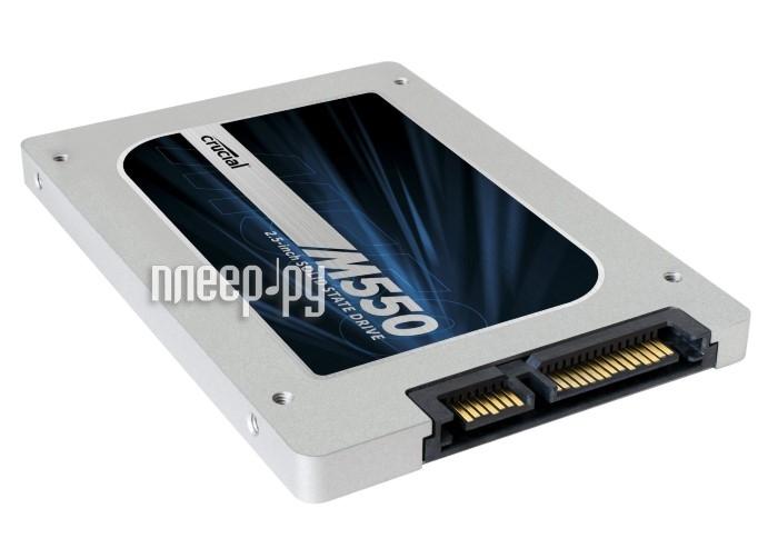 Жесткий диск 128Gb - Crucial M550 CT128M550SSD1  Pleer.ru  3570.000