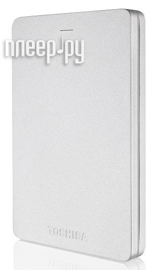 Жесткий диск Toshiba Canvio Alu 2Tb Silver HDTH320ES3CA