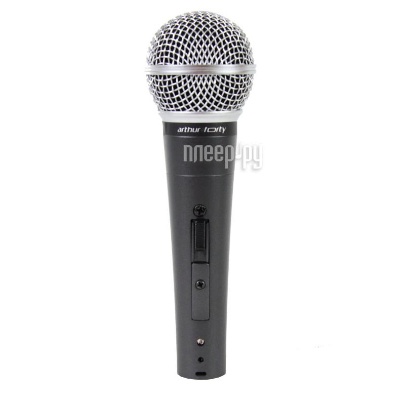 Микрофон Arthur Forty AF-58  Pleer.ru  1489.000