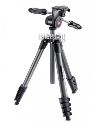 Купить Штатив Manfrotto Compact Advanced Black MKCOMPACTADV-BK