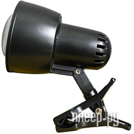 Лампа Ультра Лайт KT034B Прищепка Black
