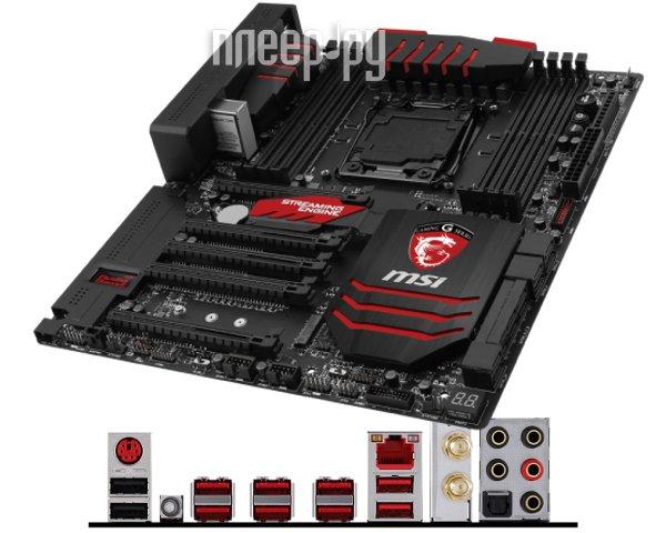 Материнская плата MSI X99S Gaming 9 AC  Pleer.ru  17932.000