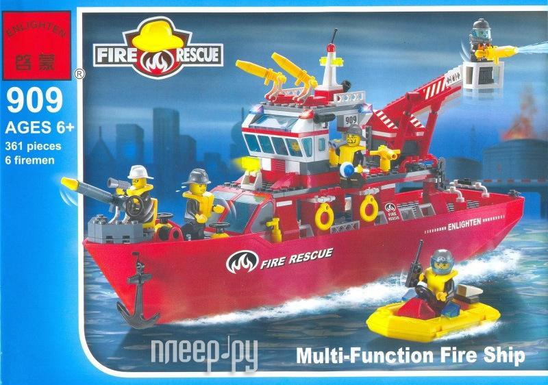 Конструктор Brick Спасательный корабль 909  Pleer.ru  1148.000