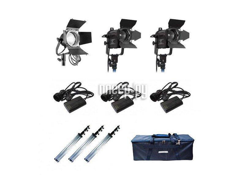 Комплект студийного света Logocam 600/SFF DIM Kit  Pleer.ru  46429.000