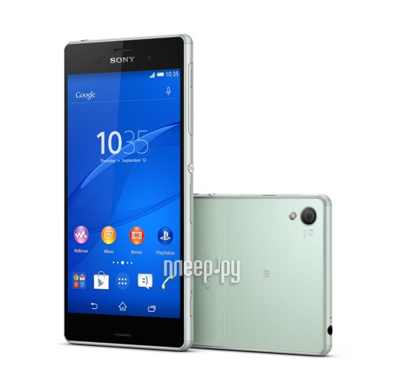 Сотовый телефон Sony D6603 Xperia Z3 Silver Green  Pleer.ru  25377.000