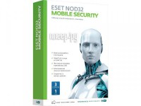 Антивирус ESET NOD32 Mobile Security 3Dt 1year NOD32-ENM2-NS(BOX)-1-1