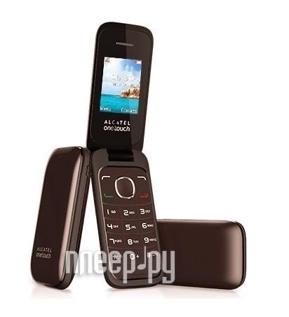 Сотовый телефон Alcatel OneTouch 1035D Chocolate  Pleer.ru  1069.000
